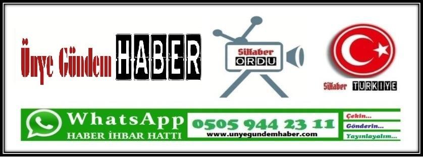 Ünye Gündem Haber / SihaberOrdu / SihaberTürkiye